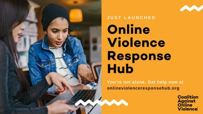 The Online Violence Response Hub launched by the Coalition Against Online Violence.