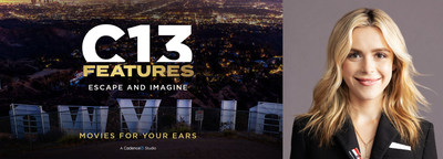 C13Features Taps Kiernan Shipka to Star in 'Treat': Debut Podcast Dropping on Halloween Week from New Scripted Audio Movie Division of Cadence13