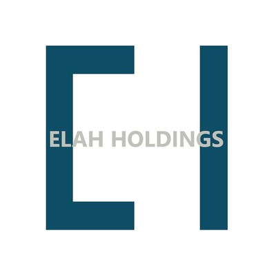 Elah Holdings, Inc. Logo (PRNewsfoto/Elah Holdings, Inc.)
