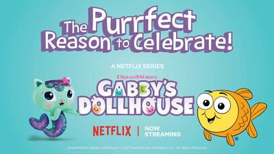 Goldfish Swim School Partners with DreamWorks Animation to Celebrate Season 2 of Gabby's Dollhouse