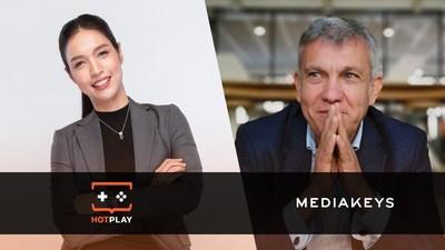 Jessie Nithinan Boonyawattanapisut, Chief Executive Officer, HotPlay and Co-Chief Executive Officer, NextPlay and Paul Cahierre, Chief Executive Officer, Mediakeys