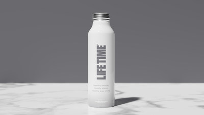 Life Time, the nation's premier healthy lifestyle brand, announced today that it will stop selling water in plastic bottles at its 150+ athletic resorts across North America by Labor Day, cutting more than 1.6 million plastic bottles annually. The plastic bottles are being replaced by aluminum bottles with Life Time-branded natural alkaline spring water.