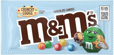 Mars Wrigley Introduces M&M'S® Crunchy Cookie to Deliver Better Moments and More Smiles to Fans Through a Timeliness Flavor Combination