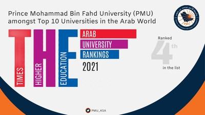 Prince Mohammad Bin Fahd University amongst the Top prestigious Universities in the Arab World