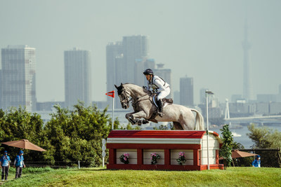 Great Britain's Oliver Townend is back in pole position individually and the British team maintains the lead after today's Cross-Country phase of Eventing at the Olympic Games Tokyo 2020. (FEI/Christophe Taniere)