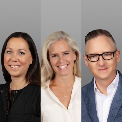 Virginie Costa joins as Global Chief Financial Officer; Gretchen Koback Pursel joins as Global Chief People Officer and Hugh Dineen joins as President of Global Brands and Global Chief Marketing Officer.