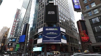 Concept Medical Lights Up NY Times Square to celebrate the enrollment of 1000 patients for ABILITY Diabetes Global Study