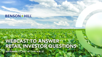 Starting today, retail investors who are current holders of Star Peak stock, can submit and upvote questions to management. To submit questions, please visit the Say Connect platform at: https://app.saytechnologies.com/bensonhill-2021-september.
