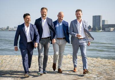 Gérard Ghazarian, Jody Koehler, Jos Govaart and Ruud Wanck