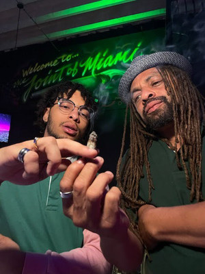 """With Ed """"NJWeedman"""" Forchion now busy fielding offers to branch out, he is officially 'passing The Joint' to his son, King """"Krefiii"""" Forchion, appointing him CEO of The Joint of Miami. The 'budding' 23-year-old will oversee a staff of weed loving employees who are working to enhance entertainment in Miami and infuse nightlife with the sweet aroma of Mary Jane. King is one of the youngest hip hop canna-preneur club owners in the nightlife industry."""