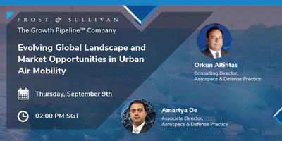 Frost & Sullivan Reveals the Growth Opportunities in the Urban Air Mobility Industry