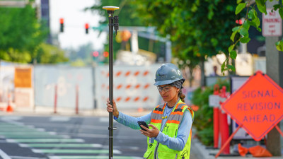 New Trimble DA2 Receiver Boosts Performance of Trimble Catalyst GNSS Positioning Service