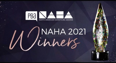 Professional Beauty Association Announces Winners of the 2021 North American Hairstyling Awards (NAHA)